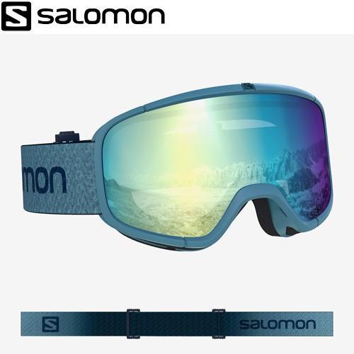 SALOMON サロモン 19-20 FOUR SEVEN PHOTO 青 ゴーグル 19/20 スキーゴーグル 2020 記念モデル (1col):L408434