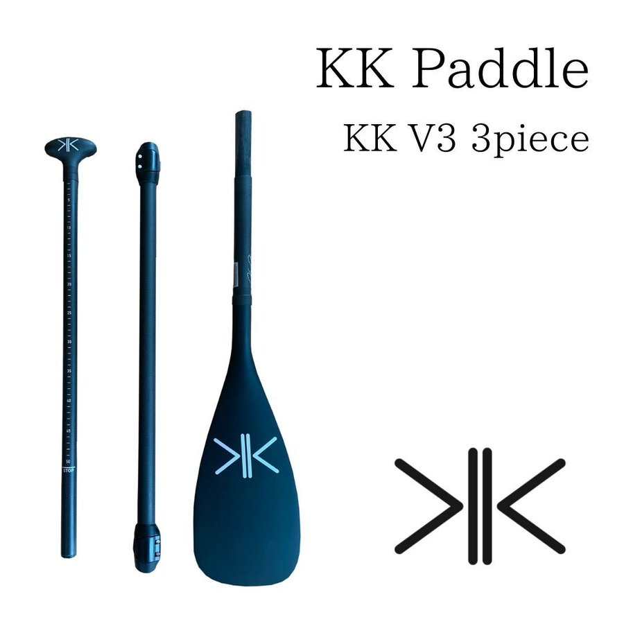 Kaneko Paddles KK V3 3 pieces カネコパドル SUP/サップ スタンドアップパドル 軽量|paddler