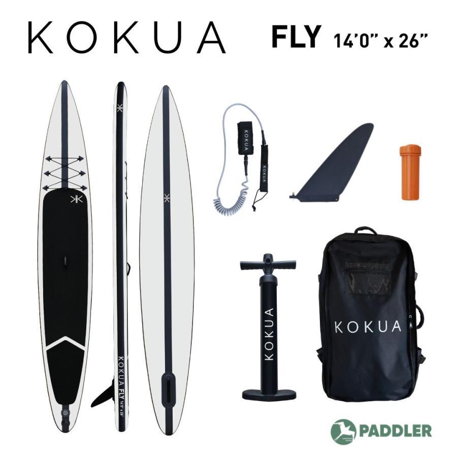 KOKUA FLY SUP スタンドアップパドル サップ インフレータブル 14ftx26inch|paddler