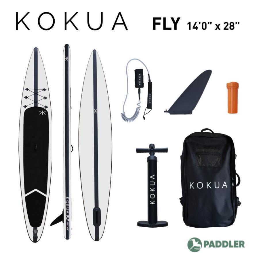 新商品7月ご予約受付中 KOKUA FLY SUP 14ftx28inch ストア サップ スタンドアップパドル インフレータブル 格安店