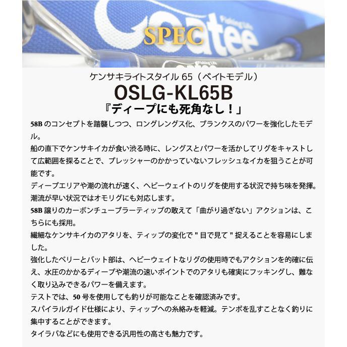 ゴーティー Goatee ケンサキライトスタイル65(ベイトモデル) パゴスオリジナル|pagos-netshop|04