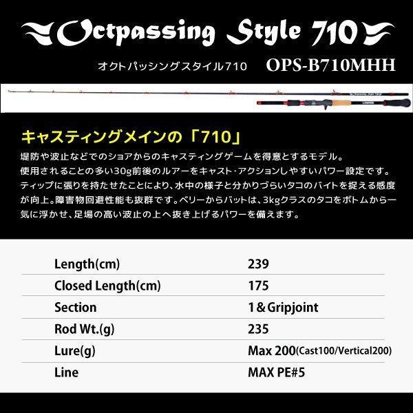 【先行予約販売】(通販専用・店頭受取不可)ゴーティー  Goatee オクトパッシングスタイル 710 パゴスオリジナル|pagos-netshop|08