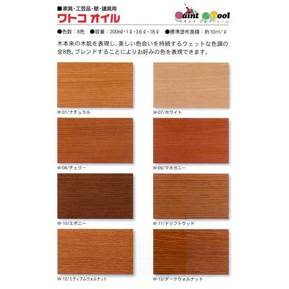 ワトコオイル ナチュラル W-01 木材専用オイルフィニッシュ 1L【WATCO】|paintandtool|02