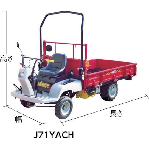 CANYCOM 小型特殊自動車 下町小町シオン 平ボディー セル付仕様(J71YACH)