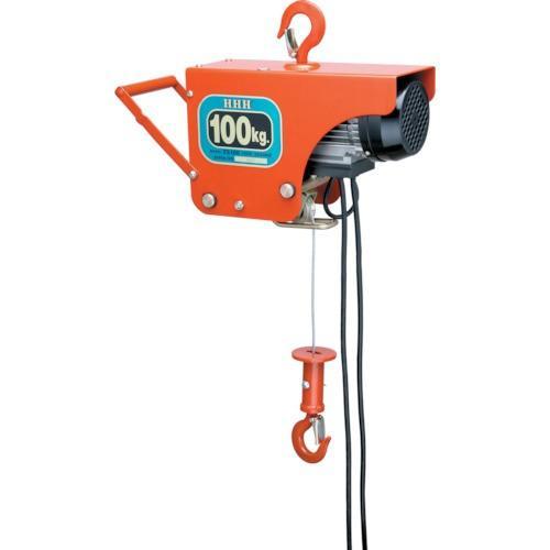 HHH 電気ホイスト 100kg 揚程10m(ZS100)