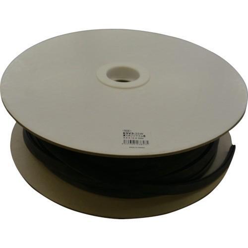 光 溝スポンジドラム巻6.8×12mm×35M(KSV335W)