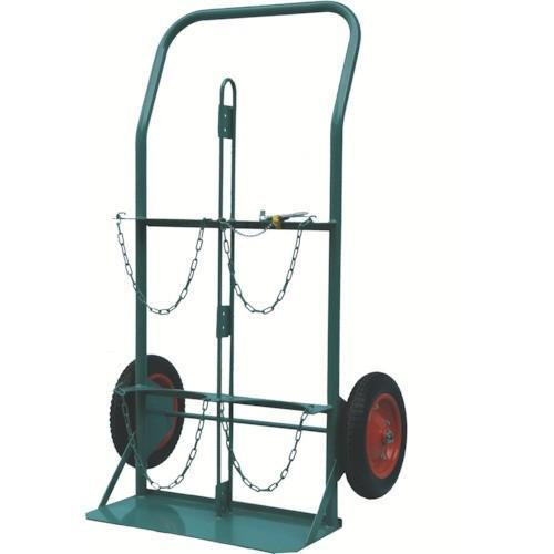 KS ボンベ運搬車 酸素7000L容器、アセチレン7.0kg容器用(KSCOMPACT)