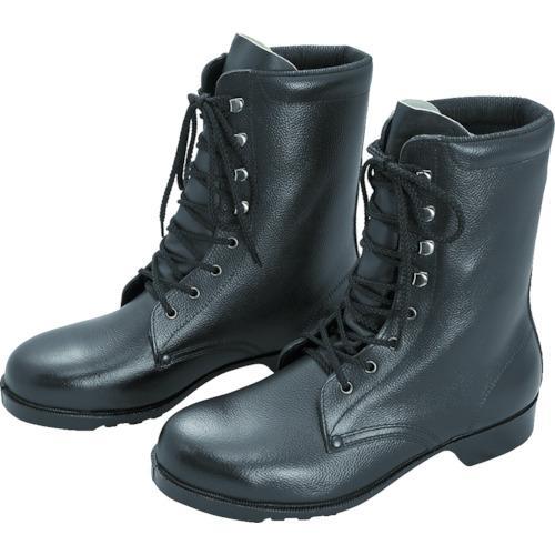 ミドリ安全 ゴム底安全靴 長編上 V213N 25.0CM(V213N25.0)