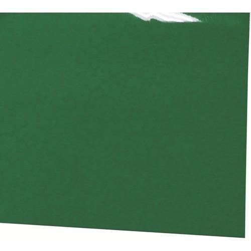 ミヅシマ ビニール長マット 平板 910mmX20M 緑(4110350)