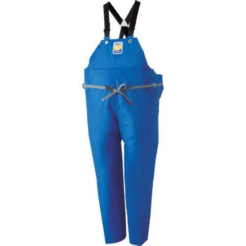 ロゴス マリンエクセル 胸当て付きズボン膝当て付きサスペンダー式 ブルー 3L(12063150)