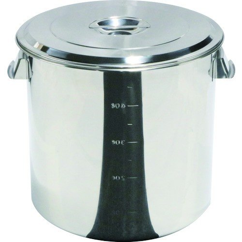 スギコ ステンレスキッチンポット蓋付 450x450 68L 手付(SH4645)