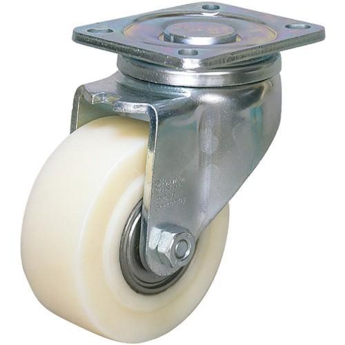シシク 低床重荷重用キャスター 自在 80径 GSPO車輪(LHGSPO80K)