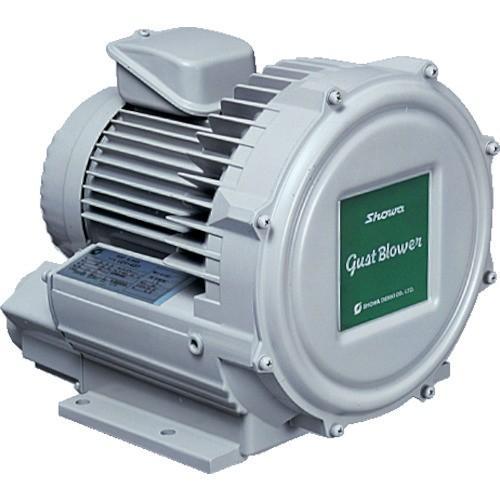 昭和 電動送風機 渦流式高圧シリーズ ガストブロアシリーズ(0.07kW)(U2V07T)