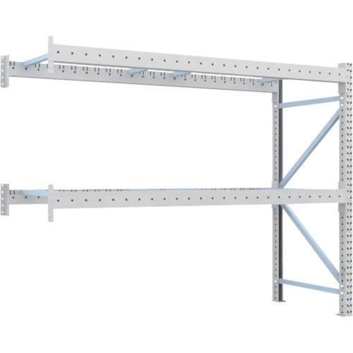 TRUSCO 重量パレット棚1トン2300×900×H2000連結 2段(1D20B23092B) TRUSCO 重量パレット棚1トン2300×900×H2000連結 2段(1D20B23092B)