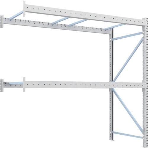 TRUSCO 重量パレット棚1トン2500×1100×H2500連結(1D25B25112B) TRUSCO 重量パレット棚1トン2500×1100×H2500連結(1D25B25112B)