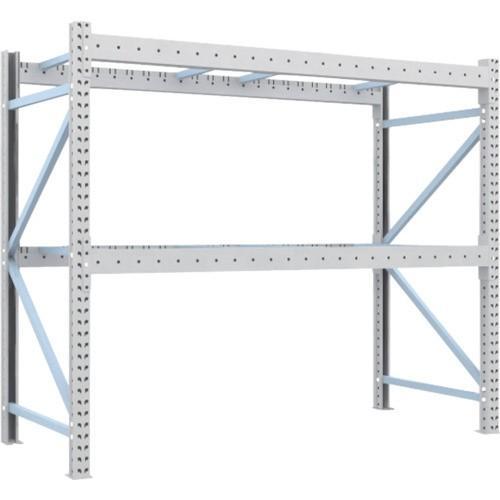 TRUSCO 重量パレット棚2トン2300×1000×H2000単体(2D20B23102) TRUSCO 重量パレット棚2トン2300×1000×H2000単体(2D20B23102)