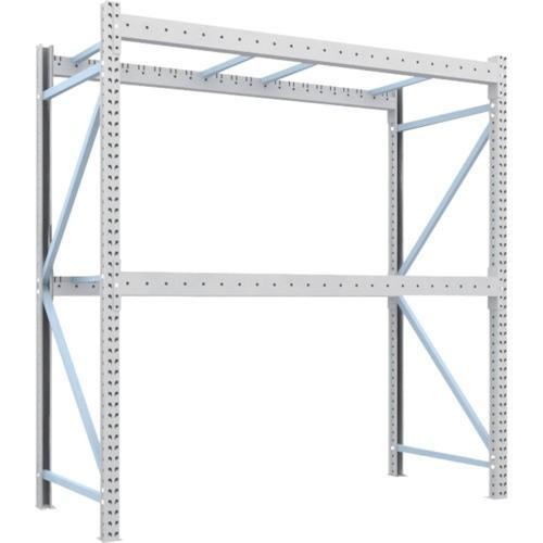 TRUSCO 重量パレット棚2トン2300×1000×H2500単体(2D25B23102) TRUSCO 重量パレット棚2トン2300×1000×H2500単体(2D25B23102)