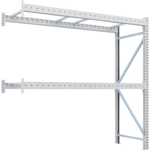 TRUSCO 重量パレット棚2トン2500×900×H2500連結 2段(2D25B25092B) TRUSCO 重量パレット棚2トン2500×900×H2500連結 2段(2D25B25092B)