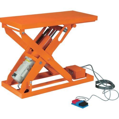 TRUSCO スーパーFAリフター100kg 電動式 800X600 高揚程型(HFA100608W320)