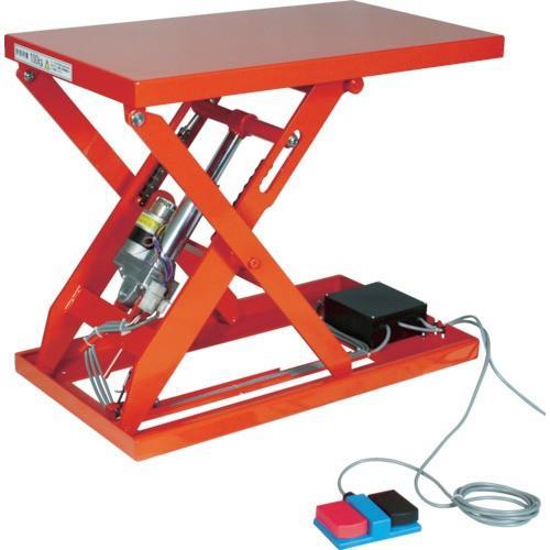 TRUSCO テーブルリフト100kg(電動Bねじ式200V)500×650mm(HDLH1056V22)