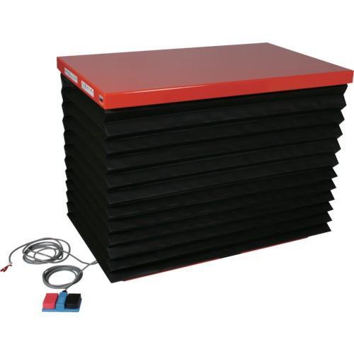 TRUSCO スーパーFAリフター300kg 電動式 1200X750 蛇腹付(HFA300712J20)