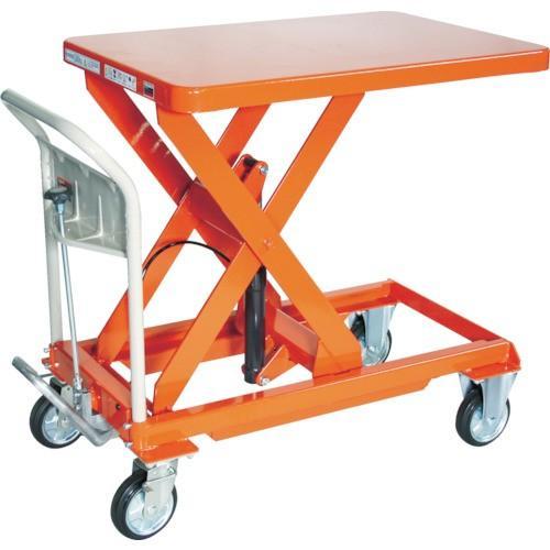 TRUSCO ハンドリフター 500kg 600X900 オレンジ(HLFS500)