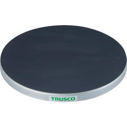 TRUSCO 回転台 100Kg型 Φ300 ゴムマット張り天板(TC3010G)