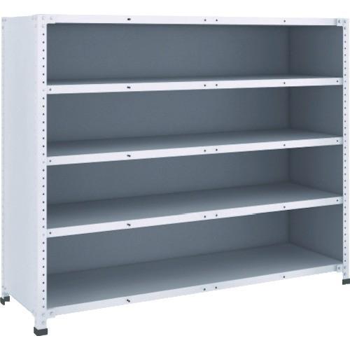 TRUSCO 軽量150型背側板付棚 1500X450XH1200 5段(TLA45S25) TRUSCO 軽量150型背側板付棚 1500X450XH1200 5段(TLA45S25)