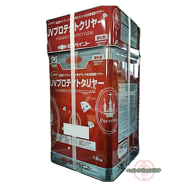 ピュアライドUVプロテクトクリヤー 艶有 お得セット [宅送] 15Kセット 10000085 サイディングボード用クリヤー塗料 日本ペイント