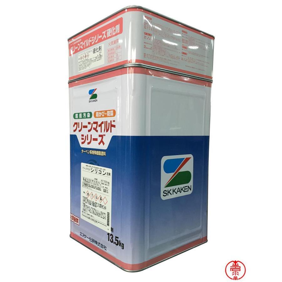高級な クリーンマイルドシリコン 絶品 つや有り 15Kgセット 白 SR標準色 エスケー化研 アクリルシリコン 日本塗料工業会塗料用標準色 淡〜極濃