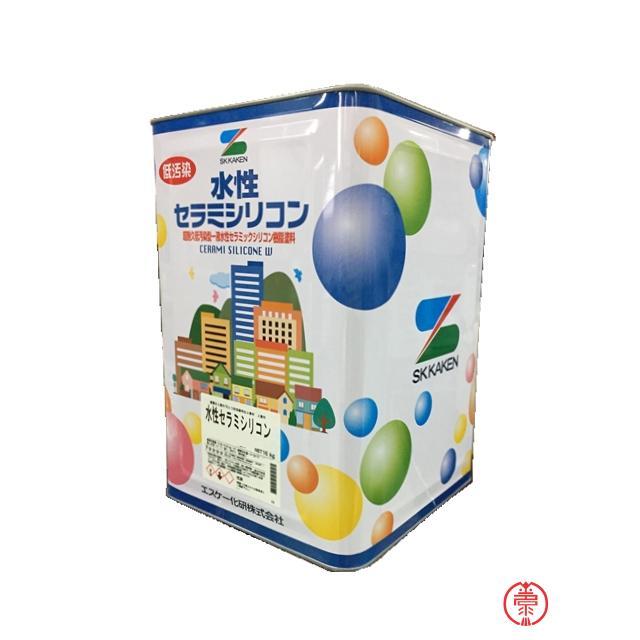 水性弾性セラミシリコン 艶有 淡彩色 16K 国内在庫 10000414 エスケー化研 外壁用塗料 セール