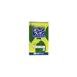 水性ファインウレタンU-100   調色ランクQ 艶有り 原色 レッド(シンカシャレッド)) (7.5kg)