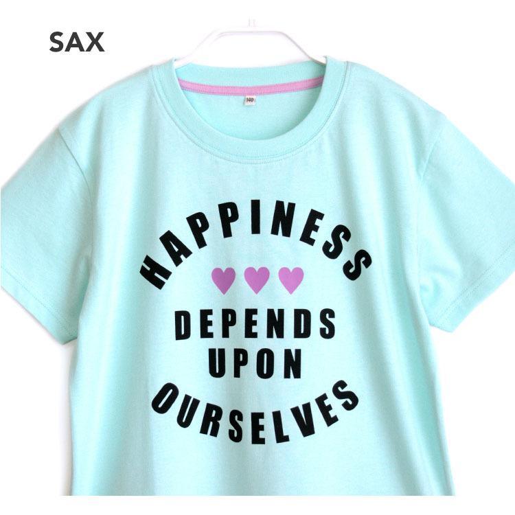 パジャマ キッズ ガールズ 春 夏 半袖 綿100% 子供 ジュニア 薄手のTシャツ 女の子 ロゴプリント ボーダーショートパンツ 130/140/150/160 メール便送料無料|pajama|04