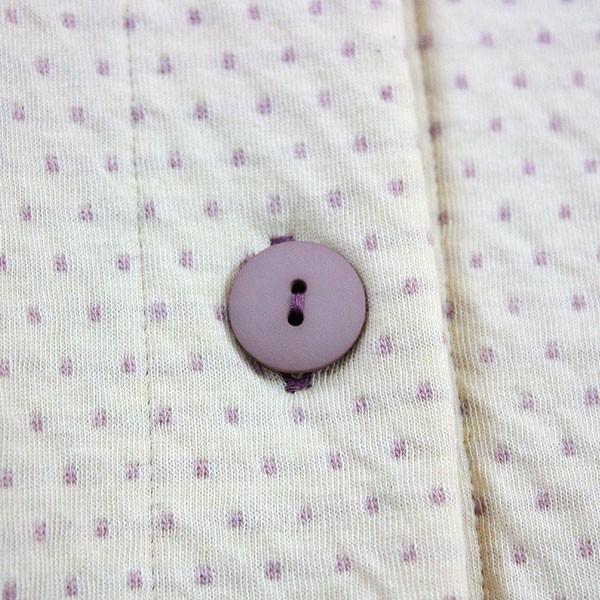 癒しのパジャマ 洛陽染めメンズパジャマ 冬春秋オーガニックコットン 2重ニット 綿 天然染色 前開き お肌の弱い方にお薦め 日本製 316|pajamakobo-lovely|09