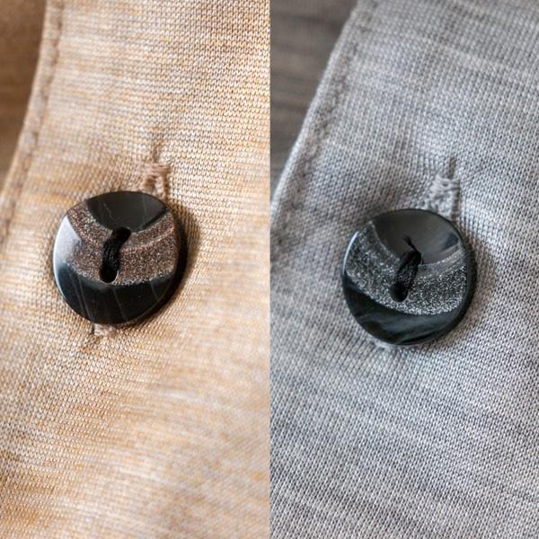メンズ パジャマ 長袖 前開き テーラーカラー シルク100%薄地天竺ニット 0524|pajamakobo-lovely|11