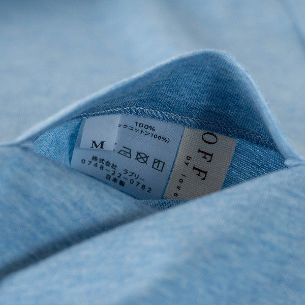 レディース パジャマ 長袖 前開き 衿付き オーガニックコットン100%薄地天竺ニット 0553|pajamakobo-lovely|09