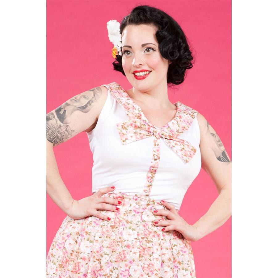 レトロ Tブラウス スウィング スカート セット 50年代風 Miss Candyfloss Hope Day|pajamas|02
