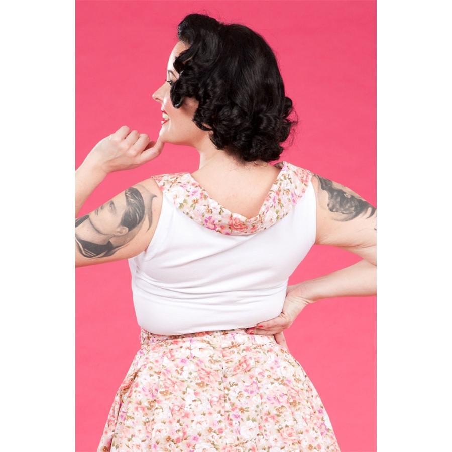 レトロ Tブラウス スウィング スカート セット 50年代風 Miss Candyfloss Hope Day|pajamas|03