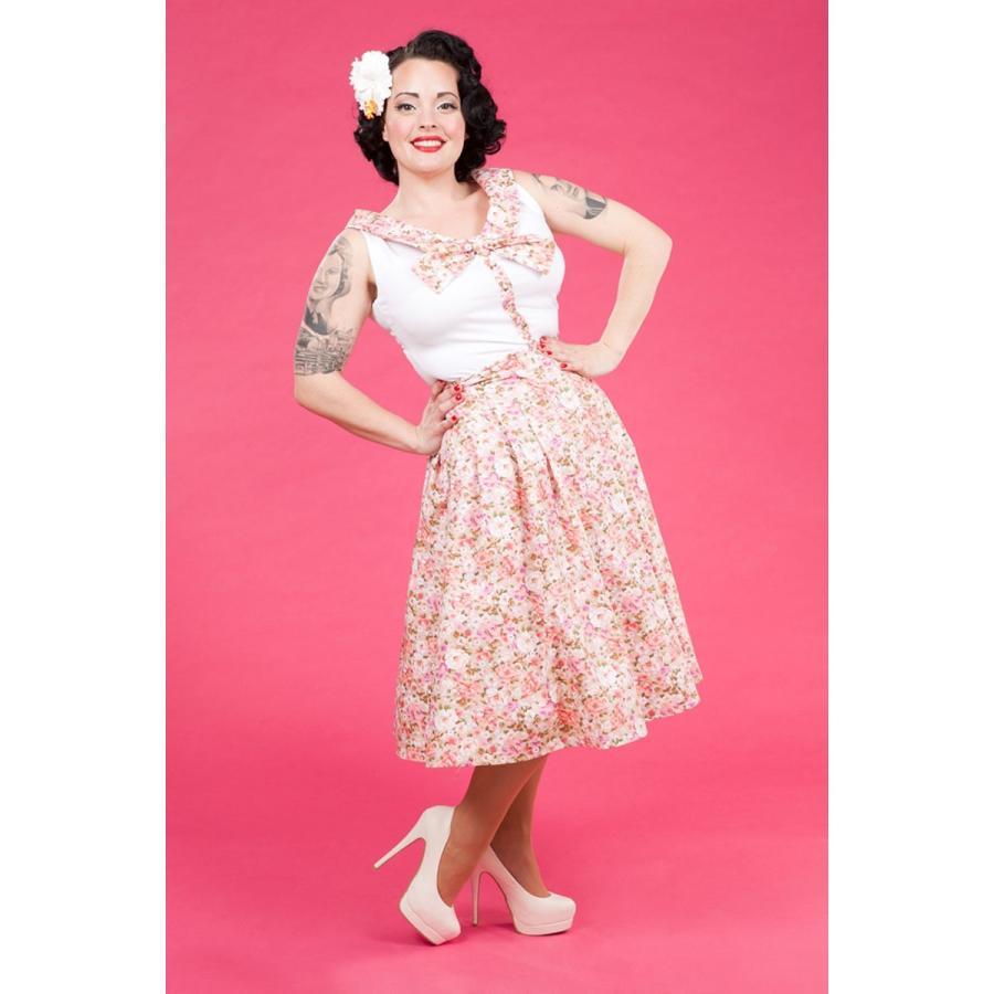 レトロ Tブラウス スウィング スカート セット 50年代風 Miss Candyfloss Hope Day|pajamas|04