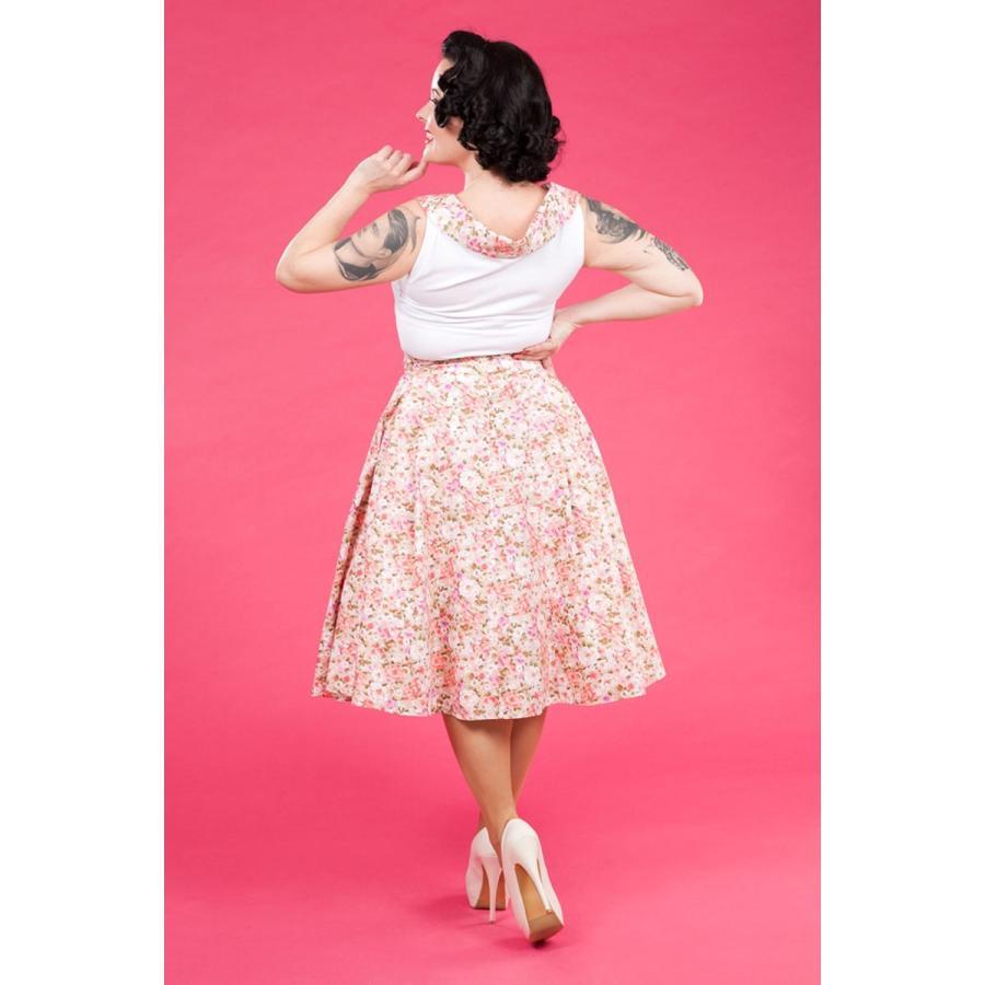 レトロ Tブラウス スウィング スカート セット 50年代風 Miss Candyfloss Hope Day|pajamas|05