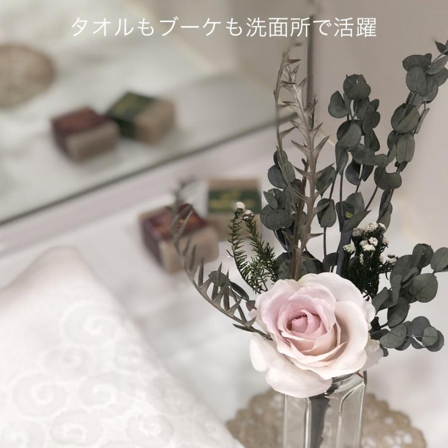 今治タオルブーケ フェイスタオル1枚と花束のギフトセット 女性が喜ぶ実用品をおしゃれなミニブーケに パジャマ屋IZUMMオリジナル|pajamaya|09