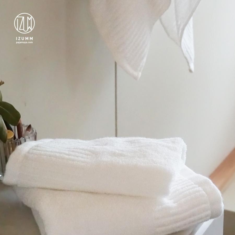 今治ハンドタオル エンジェルタオル 中厚手で使いやすい無地の白いタオル 日本製 高級タオル パジャマ屋IZUMM|pajamaya|04