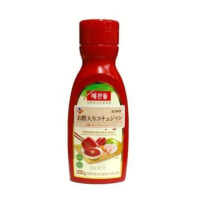 ヘチャンドル 酢入りコチュジャン チョコチュジャン 300g 甘辛口 ゴチュジャン 韓国調味料 清浄園 いよいよ人気ブランド チョンジョンウォン 韓国食材 韓国料理 永遠の定番 韓国食品