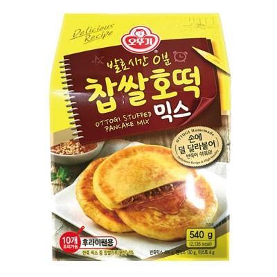 オットギ 餅米ホットクミックス 540g 高級 韓国お菓子 約10枚分 おやつ 舗