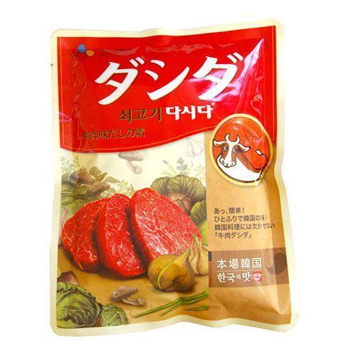 CJ 捧呈 売れ筋 牛肉ダシダ 1kg だしの素 韓国調味料 韓国食品 オススメ 韓国料理 韓国食材