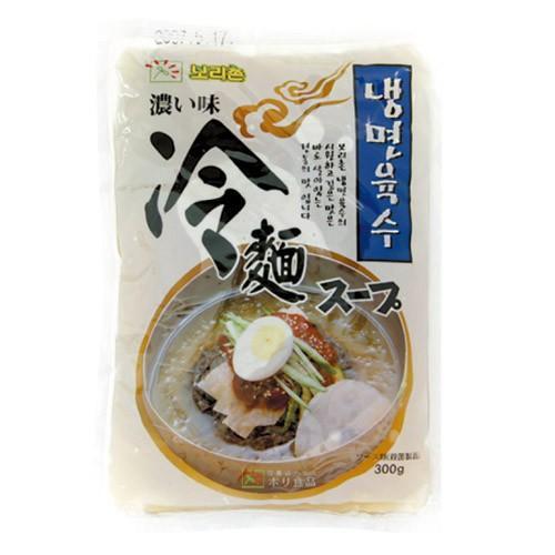 ボリ村 冷麺スープ 濃い味 300g 未使用品 韓国食品 お値打ち価格で 韓国食材 韓国料理