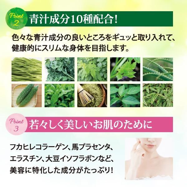 フフスゥおいしい青汁 青汁 健康飲料 置き換えダイエット ハーブ 国産 植物発酵エキス 水素 palette-store01 05