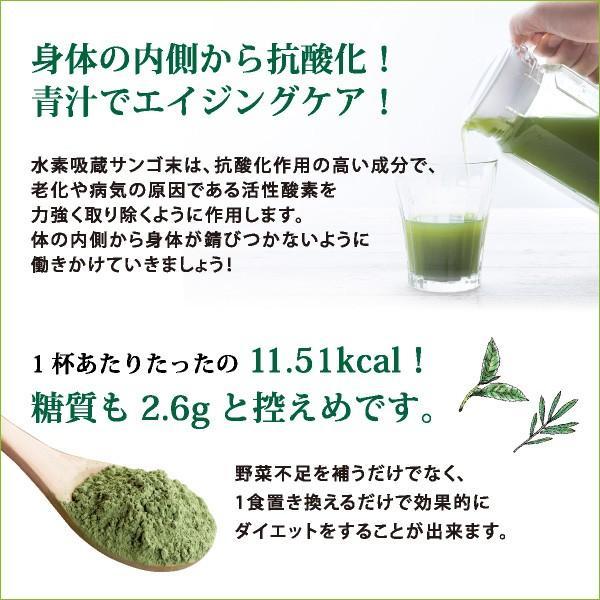 フフスゥおいしい青汁 青汁 健康飲料 置き換えダイエット ハーブ 国産 植物発酵エキス 水素 palette-store01 07
