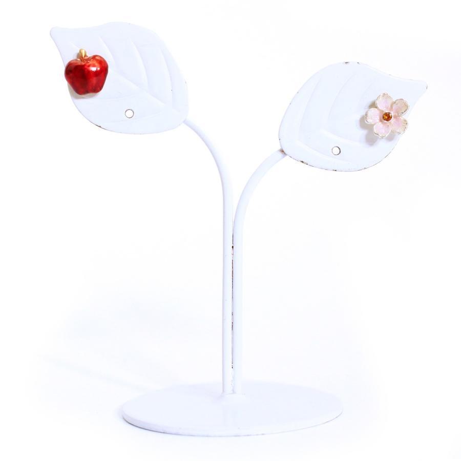 花 リンゴ 赤 ピアス レディース PalnartPoc ブランド パルナートポック直営 プレゼント   花りんごピアス|palnartpocstore|04
