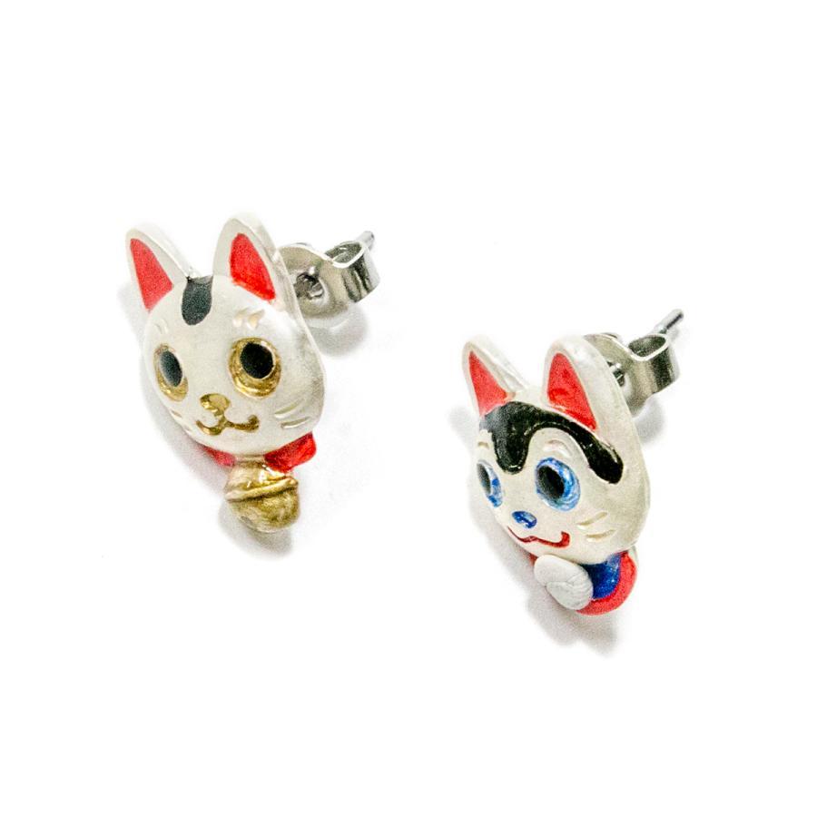 ピアス 猫 犬 サージカルステンレス レディース PalnartPoc パルナートポック 公式 ブラフシューペリア プレゼ ント 縁起物ピアス|palnartpocstore|05